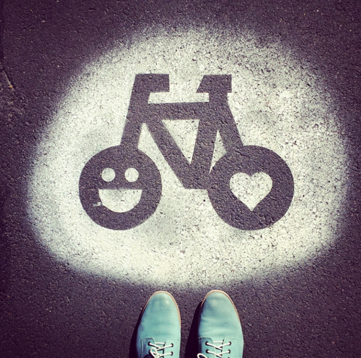 Bike love. Insta-cred: @getfunkt